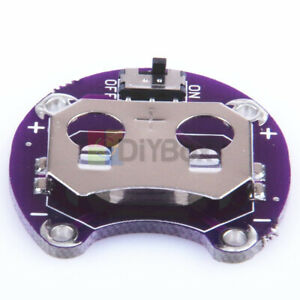 5PCS CR2032 Coin Cell Battery Holder Module for Arduino LilyPad