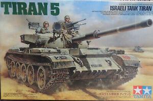 TIRAN5-Israeli-Tanque-Tamiya-1-3-5-Plastico-Modelo-Tanque-Kit