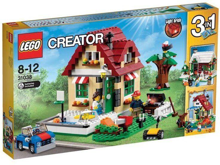 LEGO CREATOR 3 IN 1 CASA IDEAL 31038 - NUEVO, NUEVO, NUEVO, PRECINTADO SIN ABRIR. 3858ec