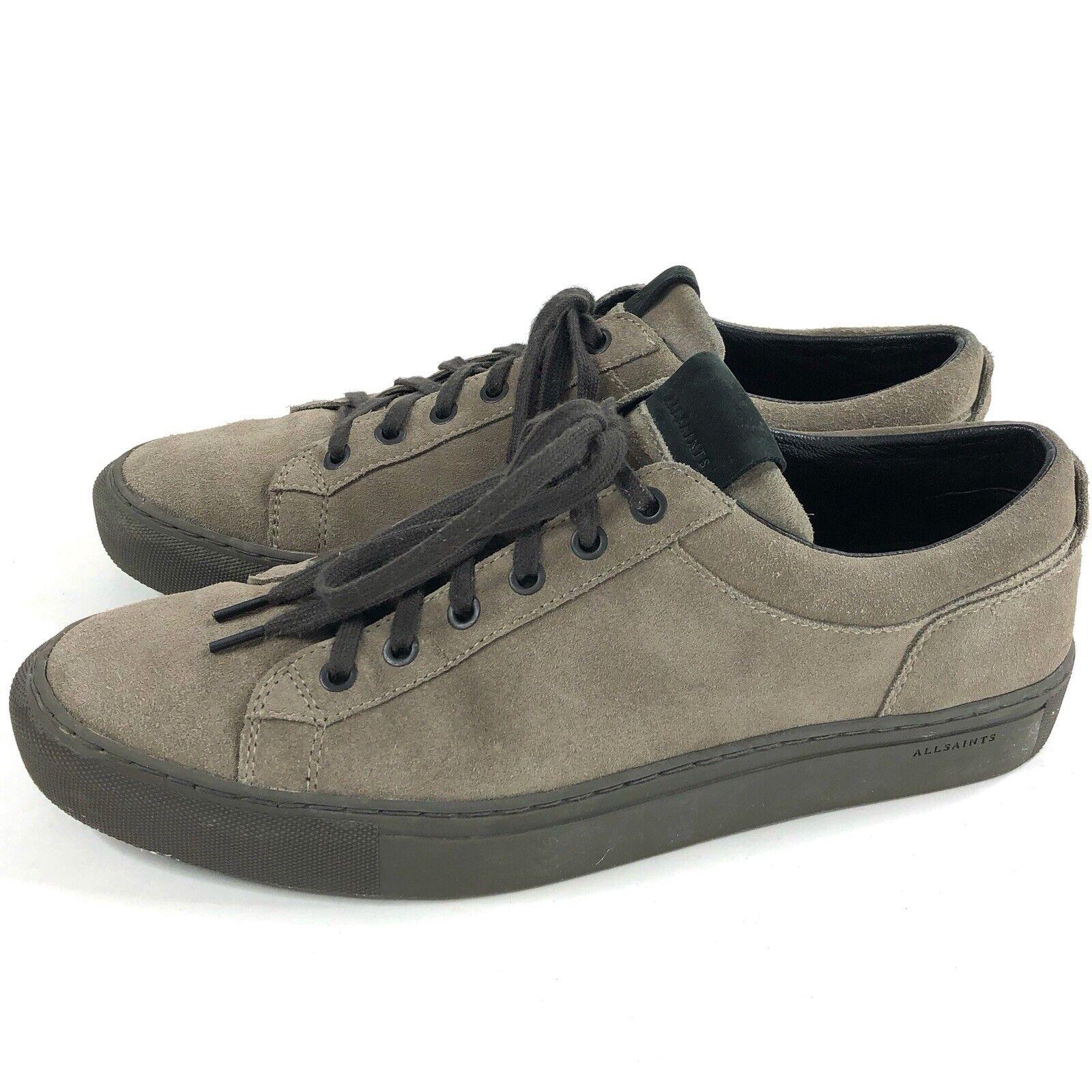 Tutti i Santi Suede scarpe da ginnastica Mens Dimensione  11 EU44 Low Top Lace Up Rubber Sole  negozio outlet