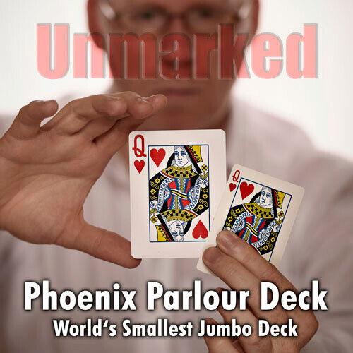 Smallest Jumbo Deck Zauberkarten Blau Spielkarten Phoenix Parlour Deck