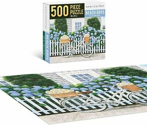 Americanflat  Bicycle Jigsaw Puzzle 500 Piece Adults Kids Jigsaw Puzzle Game