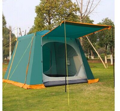 4 6 Man Person Family Cabin Tent Automatic Pop Up Quick Camping Shelter Car Bush | eBay
