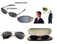 Anti-tracking Spy Glasses Sunglasses Rearview View Behind Mirror With Box