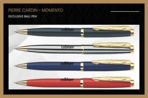 Pierre Cardin Momento Metal Body GT Ball Point Pen Blue Ink Gift Box Original BP