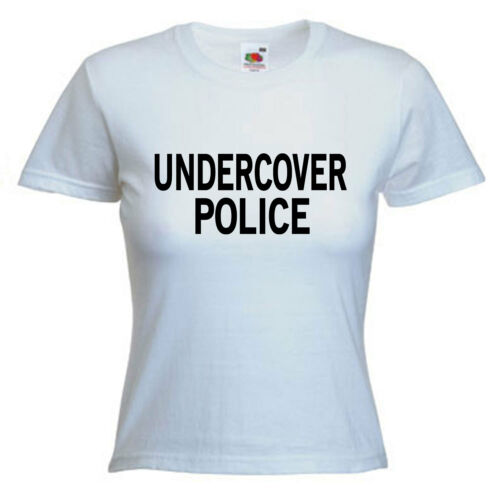 Undercover Police Ladies Womens Lady Fit T Shirt