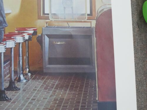 "21/"" x 29/"" Print Poster Unframed Unfolded The Diner 18/"" x 24-1//2/"""