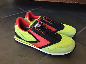 Brooks-Heritage-1101781D338-Retro-Lime-Marathon-Running-Shoes-Men-039-s-Sz-9