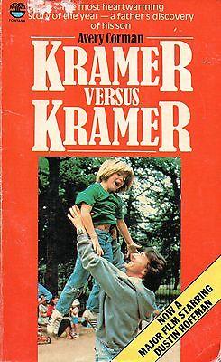 Kramer Versus Kramer Avery Corman FREE AUS POST acceptable cond paperback 1979