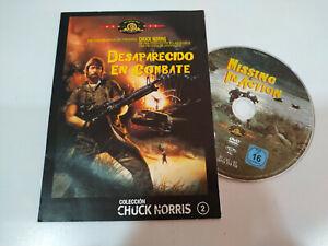 Desaparecido-en-Combate-Chuck-Norris-DVD-Sobre-de-Carton-Espanol-Ingles-Region-2