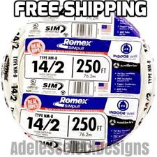 Cerrowire 12/2 NM B Building Electrical Wire Lengths 250 FT Indoor ...