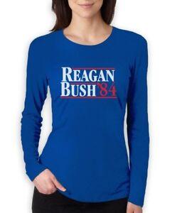 Reagan Bush 84 80 S Retro Political Party Republican