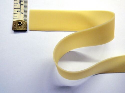 Latex Rubber Strapping 1.05mm Thick Natural 25mm// 1inch Wide