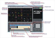 IShow Version 3.01b ILDA Lasershow Software inkl. USB ILDA LAN Interface