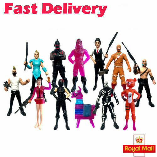 Game Fortnite Doll 8pcs Save The World Action Figures Toys Kid Best Gifts Uk For Sale Ebay