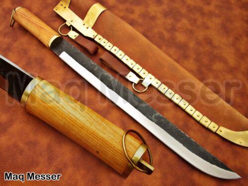 0012 Mittelalter Arbeitsmesser Kelten Wikinger messer Lederscheide Sax Style