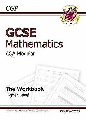 1 of 1 - GCSE Maths AQA Workbook (Including Answers) by CGP Books (Paperback, 2010)