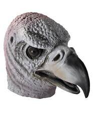Vulture Scary Bird Eagle Mask Latex Animal Adult Halloween Costume Accessory