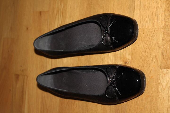 Ballerinas Gr. 5 Gr. 38 Leder VIB MILBNO neu