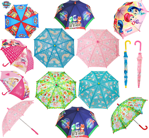bbe676ad6a21a Image is loading Kids-Childrens-Dome-Umbrella-Gift-Folding-Boys-Girls-