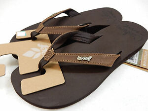 452912e3879 Image is loading REEF-WOMENS-SANDALS-CUSHION-LUNA-BROWN-SIZE-8
