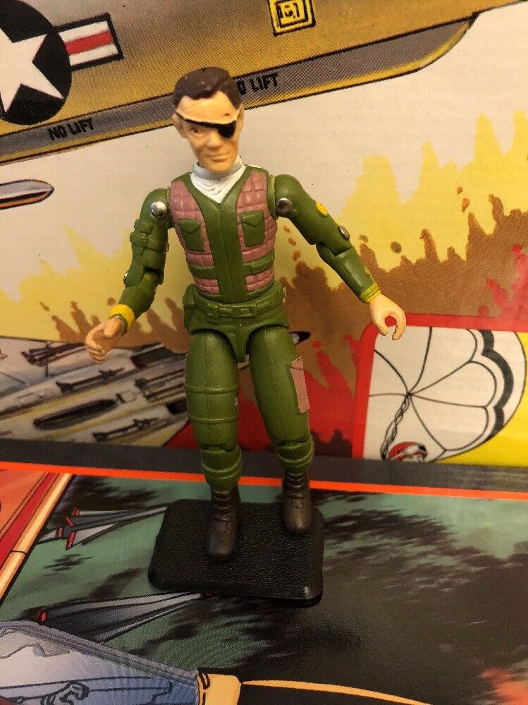 GEN PATCH 1982 GALOOB 3.75in ACTION FIGURE GI JOE STYLE VINTAGE STRAIGHT ARM