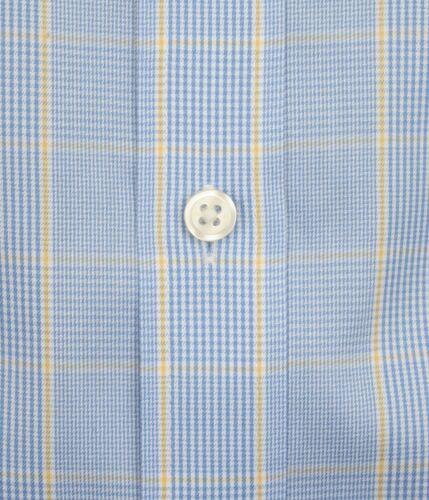 Ex Store Mens Pure Cotton Non Iron Slim Fit Single Cuff Shirt