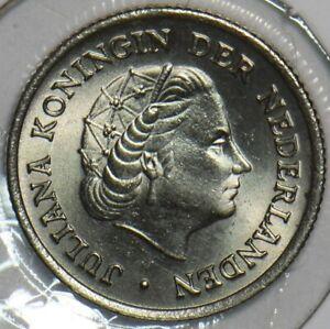 Netherlands 1958 10 Cents 903689 combine