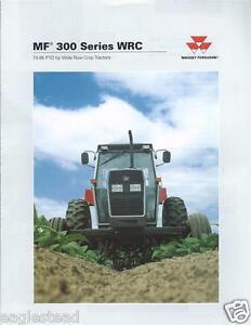 Farm tractor brochure massey ferguson mf 383 393 396 399 wrc image is loading farm tractor brochure massey ferguson mf 383 393 fandeluxe Choice Image