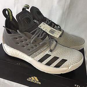 f2835908d6a2 Details about Adidas Harden Vol. 2 Men s Size 9 Boost Basketball Shoes  Sneakers NEW AH2122