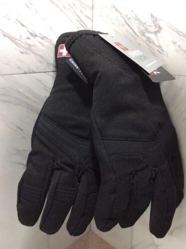 non-Fleece L-XL  NWT Boys Swiss Tech 3M Thinsulate BLACK Winter Gloves