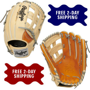 """Rawlings Heart of the Hide 12.75"""" Baseball Glove - Outfield H Web PRO3039-6TC"""