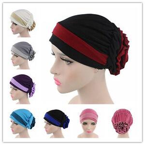 Stylish Women Hijab Cap Hat Muslim Arab Inner Hair Caps Under Scarf ... 61737f36fb3