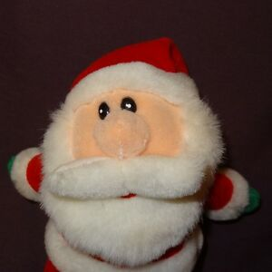 Santa Claus Plush Stuffed Animal 6 Christmas Great American Fun