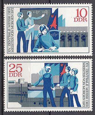 Nr 1799-1800 Postfrisch ** Mnh QualitäT Und QuantitäT Gesichert UnermüDlich Ddr 1972 Mi