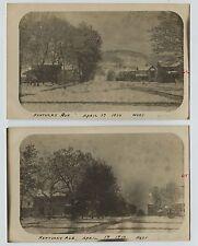 2 1910 Kentucky Avenue La Crescent Street Minnesota Candid Real Photo RPPC