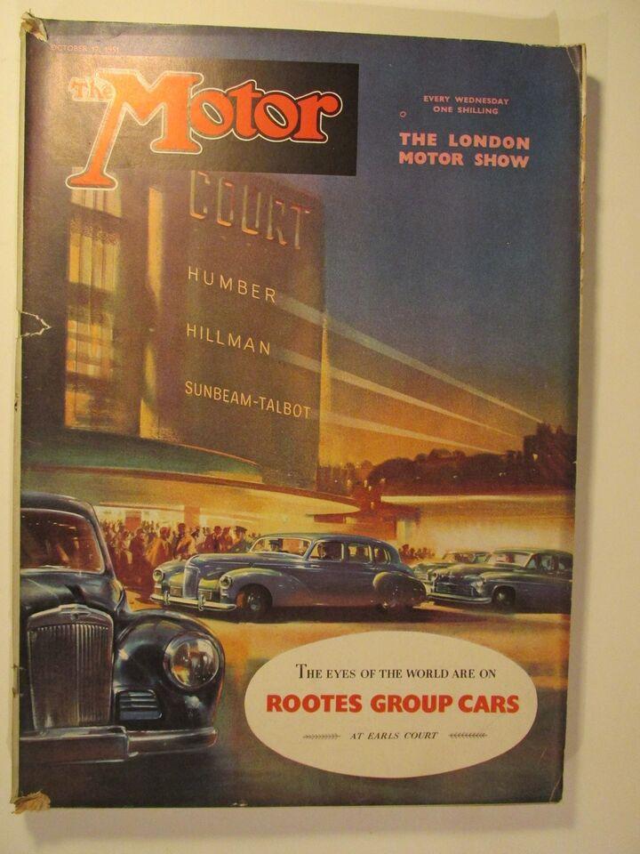 The Motor 17. October 1951, The Motor, emne: bil og motor