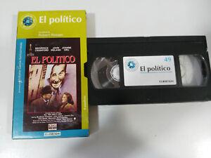 EL-POLITIQUE-ROBERT-ROSSEN-CRAWFORD-IRLANDE-VHS-BOITE-CARTON-CASTILLAN-EL-MONDE