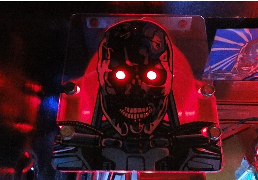 Terminator 2 T2 Pinball Machine Red Eye Mod Add-on