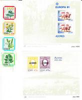 Portugal Acores / Azoren - 2 Blocks, 1 Markenheftchen; 2 blocs, 1 booklet