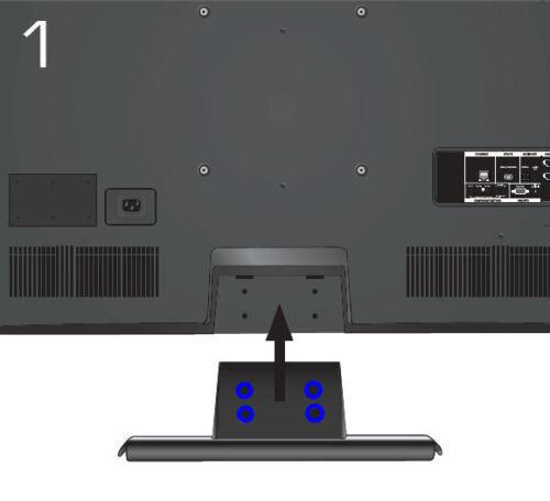 USA NEW Vizio E472VLE LCD TV Screws for Stand 4 screws