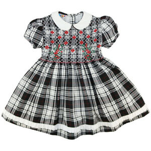 BNWT Mafana Kids Girls Smocked Dress MKVIC01