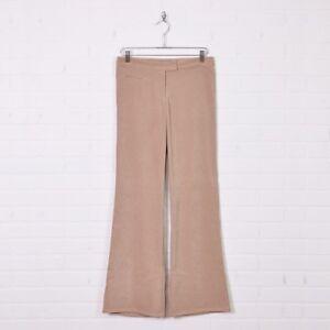vtg-90s-BCBG-MaxAzria-Beige-Wide-Leg-Bell-Bottom-Flare-Trouser-Dress-Pants-4-S