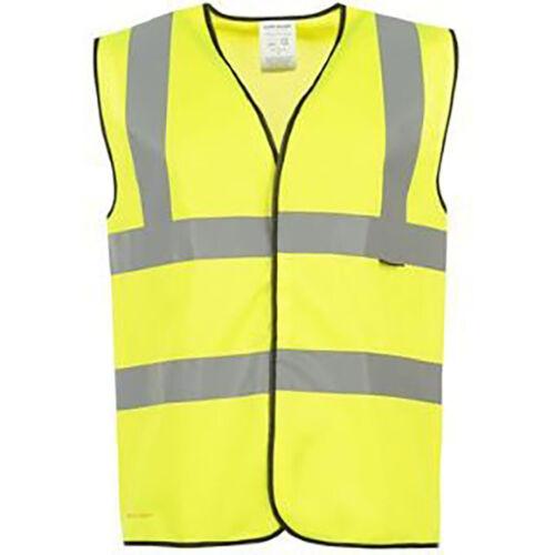 Hi Vis High  Visibility Vest Waistcoat Safety