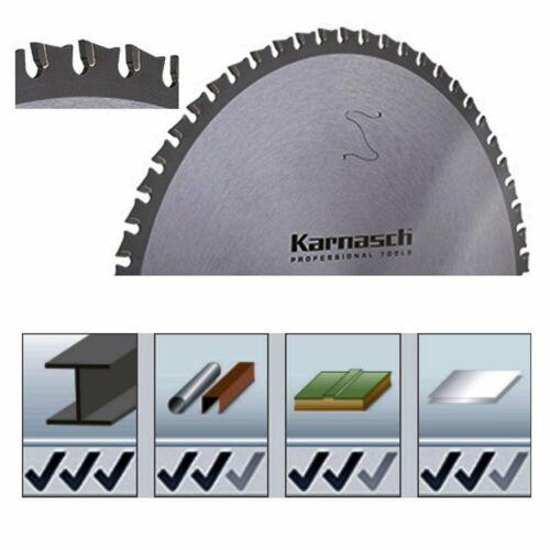 Karnasch HM-Blatt Kreissägeblatt Dry-Cutter Baustahl Alu Kunststoff Ø136-500mm