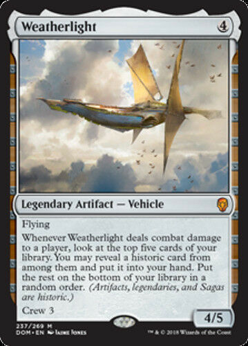NEW MTG Dominaria Weatherlight