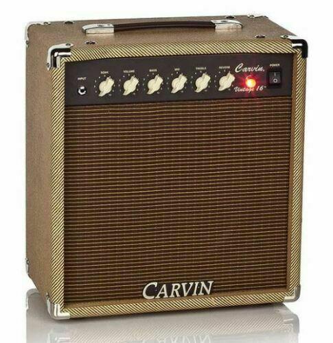 Black by Tuki Carvin Vintage 16 Combo Amp Cover Water Resistant carv036p