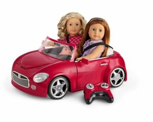 American Girl RC Red Sports Car-remote control car-new-gr84 Luciana*Blaire*Julie