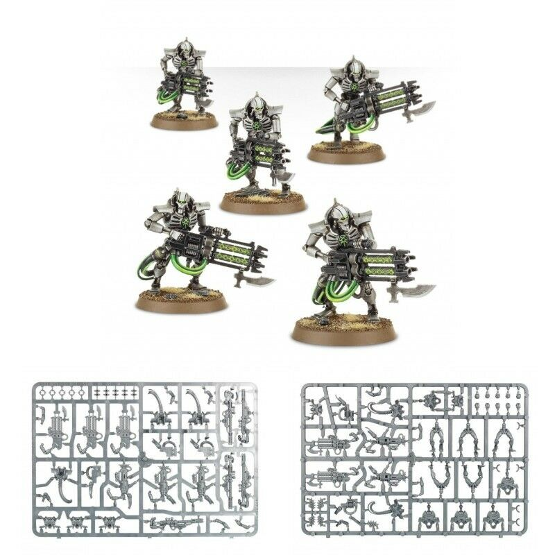Necron IMMORTALS Squad New & On Sprue Warhammer 40K
