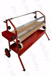 Twin Masking Paper Tape Roll Dispenser Cart Trolley 18 Inch 450mm